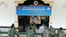 Ustadz Hadi Ajak Prajurit Lanal Lhokseumawe Tauladani Nabi Muhammad SAW Guna Mendukung Keberhasilan Tugas Pokok TNI